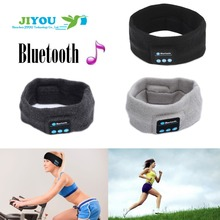 JIYOU Winter Running Fabric Headband Fashion Bluetooth Music Smart Headband