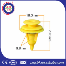 ISO9001 ZX CERTIFICATED Auto Plastic Nylon Clips and fastener