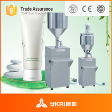 GS-1/2 semi-automatic oil filling machine, bottle filling machine, water/ointment/cosmetic filler