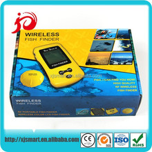 New portable wireless ice fishing fish finder with LCD display