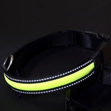 New reflective nylon dog circle lead pet collars