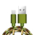 Durable Nylon Braided Micro USB Charger Cable Cord Fabric Date Sync Cable Manufacturer in China