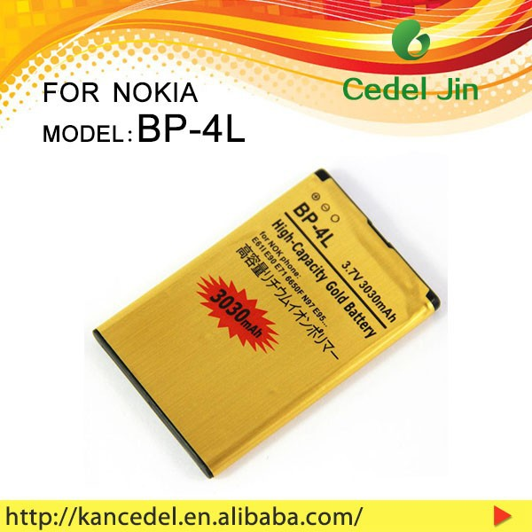 OEM/ODM China Wholesale Phone Battery 3030mah for NOKIA BP-4L mobile phone
