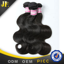 Wholesale price best quality brazilian 7A grade 100% human body wave hair texture