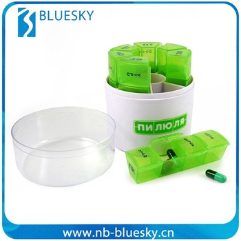 Durable promotional cheap pill boxes