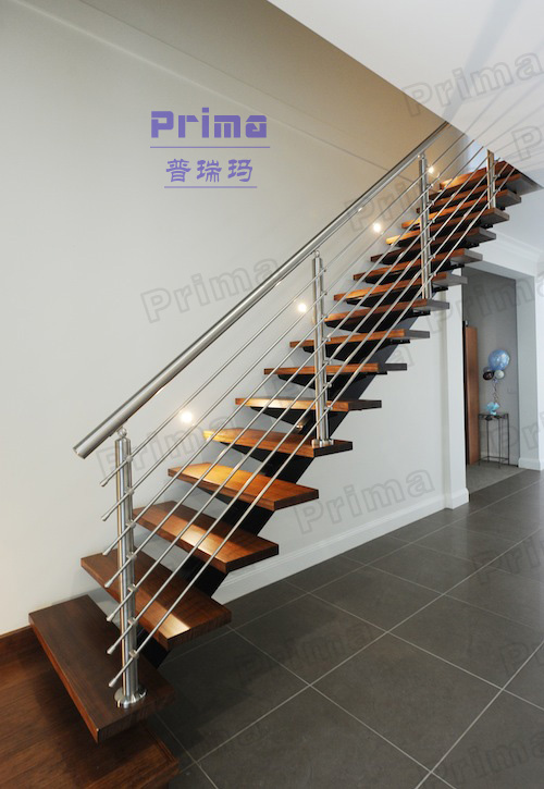 Indoor models stairs metal deck stairs(PR-L1027)