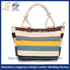 Hot Sale Fashionable Promotional Custom Canvas beach bag with handles