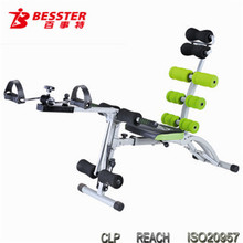 BEST JS-060SC 2014 Hot-selling 8 PACK CARE gym equipment twist body shape equipment abdominal bench abdominal massage machine