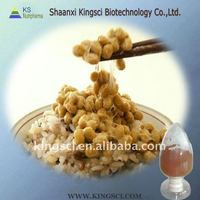 Pure natural raw material of Natto,Nattokinase 10000U/G,20000U/G(best Lower Cholestrol)