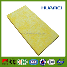sound proofing thermal insulation glass wool board in lowest price