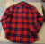 OEM Service new fashion red flannel plaids checked men shirt