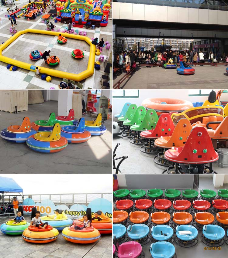 Amusement park kids ride inflatable UFO Medium Star bumper car for sale