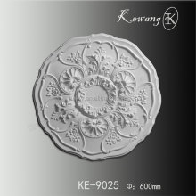 Polyurethane High Density Beautiful Decorative PU Ceiling Medallions