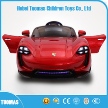 2017 New design remote control electric car kids baby 6v toy car on sale