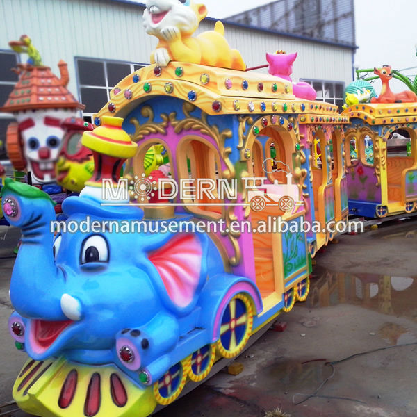 Electric mini train for sale