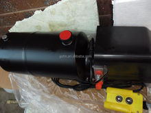 Small Multi Stages hydraulic ram with 12V hydraulic power unit