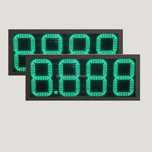 led gas price signs changer/ led digital gas price sign/ led outdoor for signages