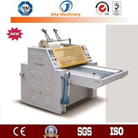 [JT-YDFM1200]Hot sell manual hydraulic thermal film and pre-glued film laminating machine