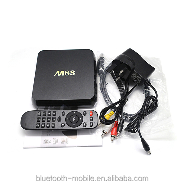 Best hot sale android tv box Amlogic S812 support CBMC Quad core TV Box XBMC DLAN Miracast Airplay