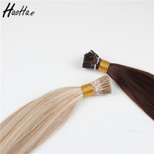 Wholesale Manufacturer i-tip 2g Stands 80cm Brazil Remy Human Hair Extension