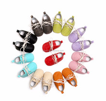 high quality soft leather baby oxford shoes sport soles shoe for kids