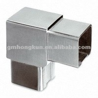 stainless steel square tube connector/ square tube flush joiner/ square tube elbow bends