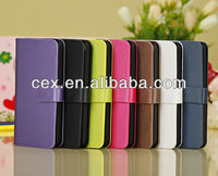 NEW Arrival Luxury Book Style Magnetic PU Leather Stand Case Cover for iPhone 5C