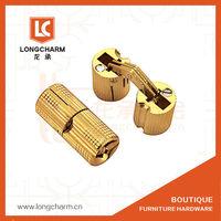 8MM BARREL Solid Brass CONCEALED HINGE