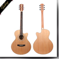 Finlay FM-1616C 40 inch top Akathis acoustic guitar with case