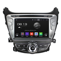 Klyde Android 5.1.1 Car radio 2din dvd player with navigation for Hyundai Elantra 2014 8inch