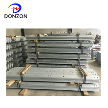Electric power line hardware hot dip galvanized angle steel cross arm
