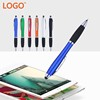 Stylus touch pen with rotation type metal
