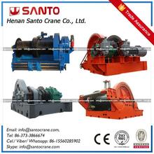Winching Hosting Mechanism For Ship Building Cranes 500 Ton