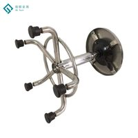 High Quality School Lab Furniture Stainless Steel Round Stool
