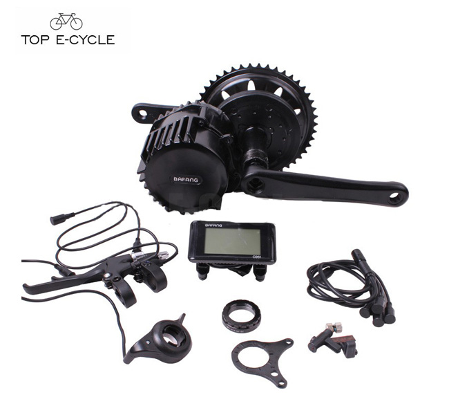 Hot sale Bafang mid drive 48V1000W 8FUN center motor kit for electric bicycle 2017