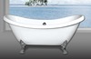 Portable bathtub, Hot Sale 2016 High Quality ABS Princess Bathtub