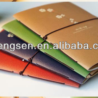 Thin Paper Notebook With Elastic Band