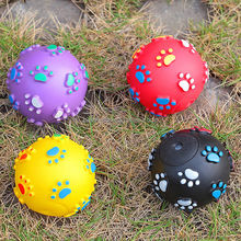 new product 2014 innovation hard rubber dog toys ball