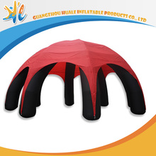 Oxford Fabric Dome PVC Material Legs Inflatable Spider Tent