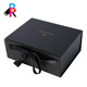 Well design high-quality cardboard black folding gift paper box wholesale