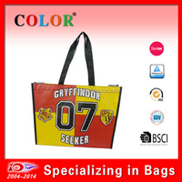 newest trapezoidal pp non woven shopping bag, tote bag