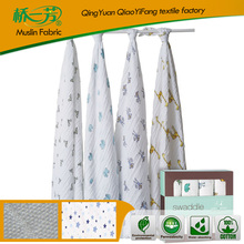 High quality offset printing blanket for dubai cotton muslin swaddle blanket
