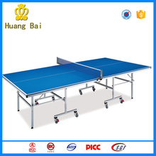 2016 Cheap Foldable Table Tennis top table tennis table equipment for the elderly
