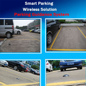 PGS Wireless Car Parking Sensor for Smart Parking Guidance