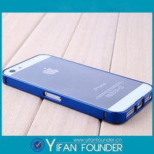 Factory made aluminum phone case slim bumper case for iphone5 5s,