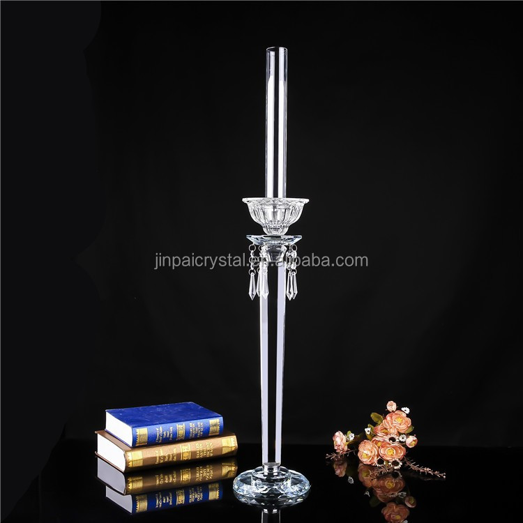 new design crystal candle holders