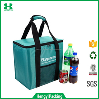 new fashion non woven material food freezer cooler bag