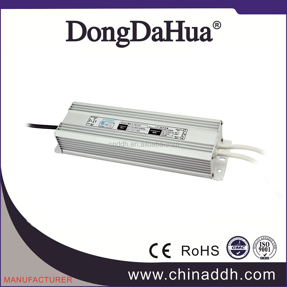 Professional 12v waterproof constant current led driver switching power supply, smps psu <strong>manufacturer</strong>