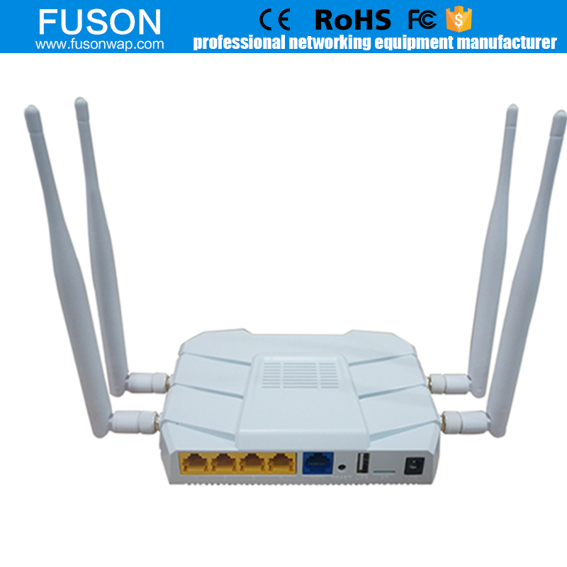 Wi-Fi Wireless Router Dual Band Router with Gigabit and USB 2.0 Ports
