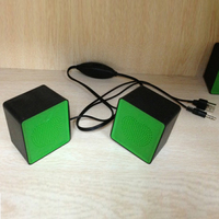 2014 Newest Portable android mini speaker with fm radio, 2.0 stereo sound